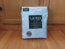 Ralph Lauren 100% Cotton Stafford QUEEN Sheet Set Light Blue NEW NIP