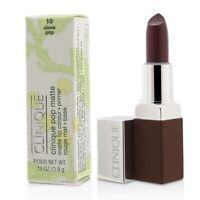 Clinique Pop Matte Lip Colour + Primer - # 10 Clove Pop 3.9g Womens Make Up