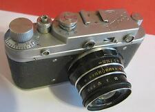 Zorki-C-original vintage soviet Leica copy camera Industar-61 collectible