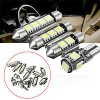 14Pcs/Set Interior LED Light Kit Easy Install Universal Car License Trunk Lamp