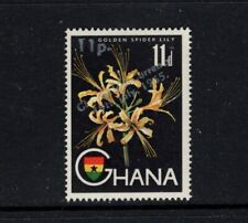 Ghana 1965 11p on 11d Golden Spider Lily Flower MNH Sc 221 SG 386