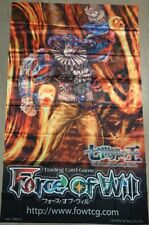 Force of Will FOW TCG A1 Blazer Gill Rabus Glass ORIGINAL WALL BANNER NEW