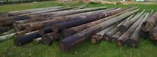 More details for telegraph poles, stripped of metal & ready to re-use. reclaimed.