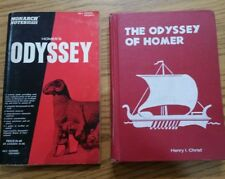 VTG. Odessey of Homer 1968 Hardcover and Monarch Notes
