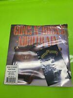 "GUNS N ROSES Nightrain 1989 UK 7"" vinyl single + PATCH NEW & SEALED 45 GEF60X"