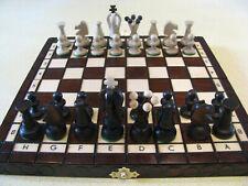 jeu d'échecs en bois pliant