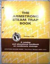 ARMSTRONG Machine Works Steam Traps Catalog ASBESTOS Gaskets 1971