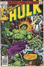 Incredible Hulk #224. VF. 1978