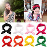 Women's Yoga Elastic Bow Hairband Turban Knotted Rabbit Hair Band Baby Headband