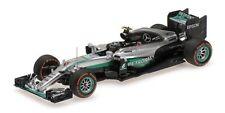 Minichamps 1:43 Mercedes AMG W07 Hybrid 2016 Japanese F1 GP Winner Nico Rosberg