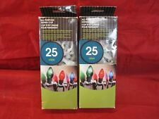 All Purpose Siding Clip Pivoting Christmas Light Holders - 2 Packs of 25 = 50pcs