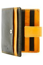 Small Bifold Wallets For Women Slim Organizer Leather Card Holder RFID Blocking