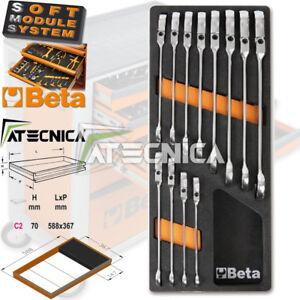 Thermogeformte beta M46 C2-147 12 Werkzeuge Schlüssel A Ratsche Swivel 142SN