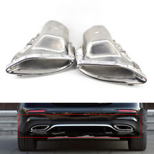 Exhaust Pipe Tips Fit For Mercedes-Benz E Class W212 W213 14+