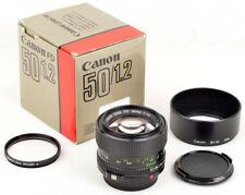 CANON LENS FD 50mm 1:1,2 - BOXED, COMPLETE, 100% MINT CONDITION A, like NEW !!!