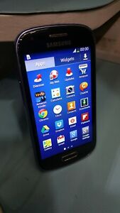 Samsung Galaxy S3Mini(GT-I8200) Blue Handset Only Network locked to Vodafone