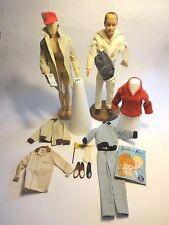 1961 Ken Doll TM #0750 plus #788 Rally Day #789 Yachtsman #796 USNavy Sailor