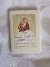 RARE *SIGNED* by Tasha Tudor. the night before Christmas ,Hardcover w/jacket