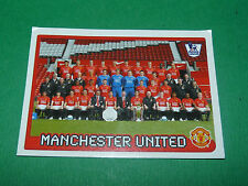 N°373 MANCHESTER UNITED MERLIN PREMIER LEAGUE FOOTBALL 2007-2008 PANINI ENGLAND