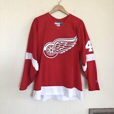 NEW CCM Detroit Red Wings Henrik Zetterberg #40 Authentic NHL Hockey Jersey Sz L