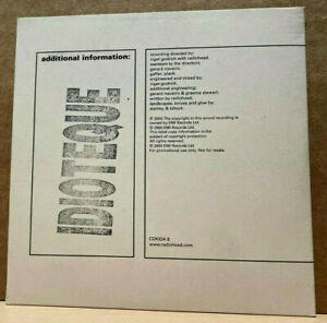 PARLOPHONE PROMO CD CDKIDA-6: Radiohead – Idioteque - 2000 UK NM