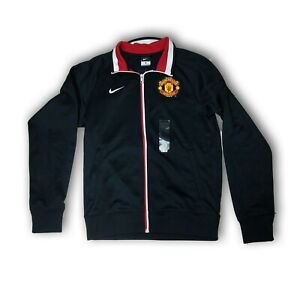 Official Nike Manchester United Black Color Men's Zipped Jacket Size S