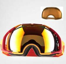 New Oakley Airbrake Snow Goggles Orange/Fire Iridium + Persimmon 59-132