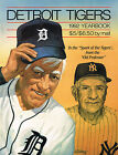 1992 Detroit Tigers MLB Baseball YEARBOOK