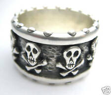 Pirate Ring Skull Crossbones Extra Chunky RXV rings RXVrings