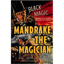 Mandrake the Magician - Cliffhanger Serial Movie DVD Warren Hull Doris Weston