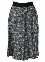 COTTON SKIRT LADIES M&S NEW PATTERNED WOMENS ELASTICATED WAIST NEW FLORAL
