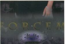 Buffy TVS Memories Reinforcements Chase Card R6