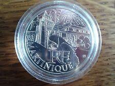 france 10 euros argent 2011 martinique