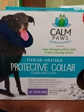 "Inflatable protective collar ""Calm Paws"" Xlarge (18"" and up)  740985273975"