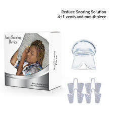 Anti Snoring, Nasal Dilator 4 Size,S,M,L,XL, Includes Anti Snoring Tongue Device