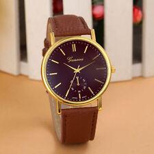 Reloj de mujer Watche Leather Stainless women Steel Analog Quartz Wristwatches d