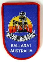 SOVEREIGN HILL Ballarat Australia Sew On Woven Cloth Patch Vintage Embroidered