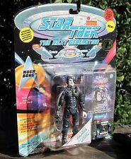 1994 Playmate Star Trek Next Generation Hugh Borg W/Space Cap/Base/Gear Moc