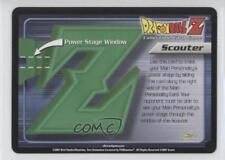 2001 Dragonball Z TCG - Trunks Saga #NoN Power Stage Scouter Gaming Card 0f8