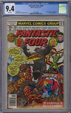 Fantastic Four #188 CGC 9.4 NM Wp Marvel Comics 1977 George Perez Cover & Art
