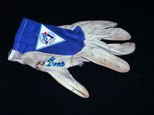 Vintage Game Used Al Alvis Woods Batting Glove Autograph Auto Signed Blue Jays