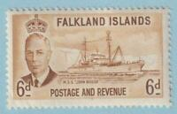 FALKLAND ISLANDS 113  MINT NEVER HINGED OG ** NO FAULTS EXTRA FINE!