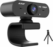 More details for axuf usb webcam web camera 1080p hd streaming with microphone for pc laptop new