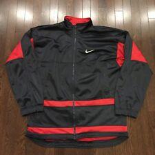 Vintage Nike Full Zip Athletic Jacket Mens Size XL