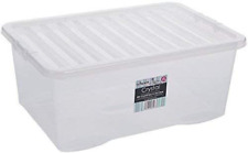 Wham Plastic Storage Boxes - Pack Of 5 45 Litre