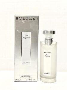 BVLGARI au the BLANC 2.5oz-75ml EAU DE COLOGNE *UNISEX* Spr *DISCONTINUED* (HC35