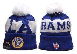 Los Angeles LA Rams Cap Hat Football NFL New Era Beanie