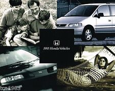 1995 HONDA Brochure/Pamphlet:DEL SOL,CIVIC,ACCORD,PRELUDE,PASSPORT,Wagon,ODYSSEY