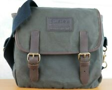 Susie's CANVAS SHOULDER MESSENGER BAG  Hunting Fishing bag MADE IN NEW ZEALAND