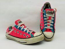 Vintage Chuck Taylor Converse Star Hot Pink & Blue Sneakers Size 5 Men 6.5 Women